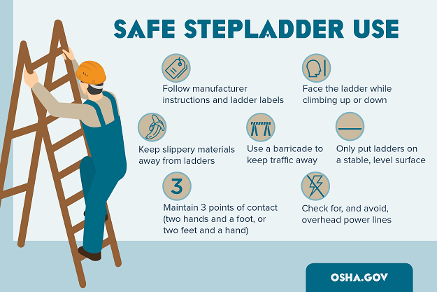 March is Ladder Safety Month